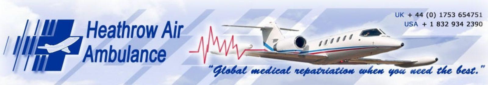 Heathrow Air Ambulance – Global Medical Repatriation